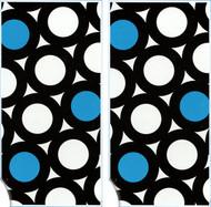 2-Pack Beach Towels (Blue Dot)