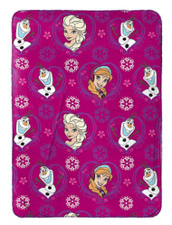 Frozen 'Anna, Elsa & Olaf' Travel Fleece Blanket