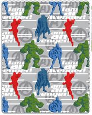 Marvel Avengers 'I am An Avenger!' Travel Fleece Throw