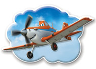 Disney Planes 'Dusty' Wall Friends Interactive Wall Character