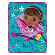 Doc McStuffins 'Here to Help' Silk Touch Throw