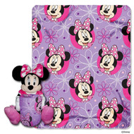"Minnie Mouse ""Minnie Bowtique"" Character and Throw Set"