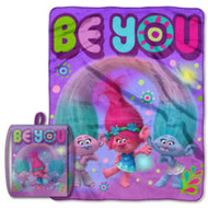 "Trolls ""Be You"" Drawstring Tote & Throw Set"