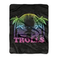 Trolls 'Dark Shade' Silk Touch Throw