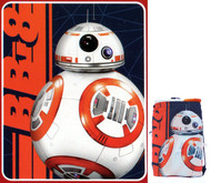 Star Wars BB8 'Fast Droid' Drawstring Tote and Throw Set