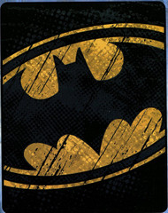 Batman 'Raw Shield' Silk Touch Throw