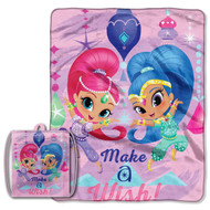 Shimmer and Shine 'Star Power' Drawstring Tote and Throw Set