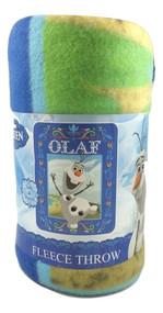 Disney Frozen Olaf 'Celebrate Spring' Fleece Throw