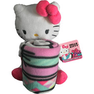 Hello Kitty 'Kitty Flowers' Character and Throw Set