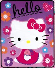 """Hello Kitty """"Star Kitty"""" Fleece Throw"""