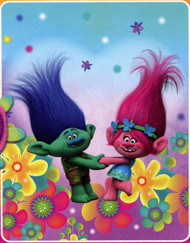 "Trolls ""Forest Hope"" Fleece Throw"