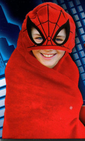 "Spiderman ""Spidey"" Hooded Throw"