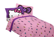 Hello Kitty 'What's Not to Love' Full Size Sheet Set