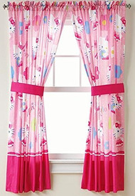 Hello Kitty 'How Sweet It Is' Window Panels
