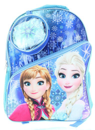 Disney Frozen Backpack with Cape and Detachable Case