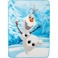 Disney Frozen 'Here's Olaf' Plush Throw