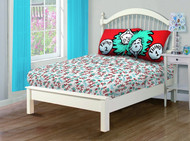Dr. Seuss's Cat in the Hat 'Thing1/2' Twin Sheet Set
