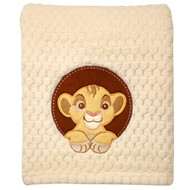 The Lion King Popcorn Coral Baby Blanket