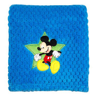 Mickey Mouse Popcorn Coral Baby Blanket