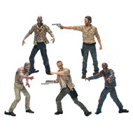 The Walking Dead: 5-Pack Figure Building Set