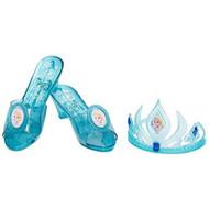 Disney Frozen Elsa Tiara and Shoe Set