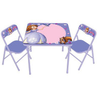Sofia The First Erasable Activity Table Set