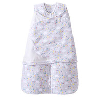 HALO SleepSack Fleece Swaddle - Rain Drops Print (Small)
