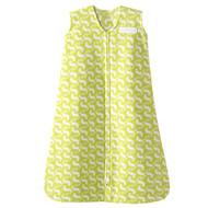 HALO SleepSack Fleece Wearable Blanket - Green Gecko (Large)