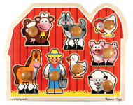 Melissa & Doug Farm Animals Jumbo Knob Puzzle