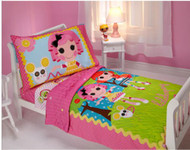 "Lalaloopsy ""Sew Cute"" 4-piece Toddler Bedding Set"