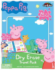 Cra-Z-Art Peppa Pig Washable Dry Erase Travel Pack