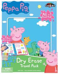 Cra-Z-Art Peppa Pig Washable Dry Erase Travel Pack