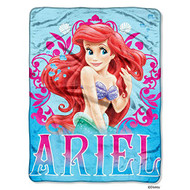 "Disney's Ariel ""Coral Reef"" Micro Raschel Throw"
