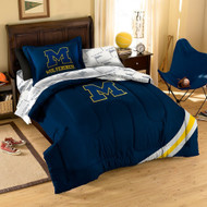 NCAA Michigan Wolverines Twin Bedding Set