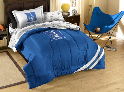 Ncaa Duke Blue Devils Twin Bedding Set Image 1