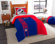 NFL Buffalo Bills Soft & Cozy 5-Piece Twin Size Bed in a Bag Set