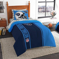 NFL Tennessee Titans Soft & Cozy 5-Piece Twin Size Bed in a Bag Set