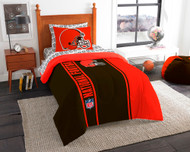 NFL Cleveland Browns Soft & Cozy 5-Piece Twin Size Bed in a Bag Set