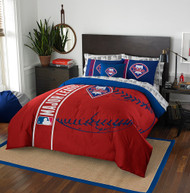 MLB Philadelphia Phillies Soft & Cozy 7-Piece Full Size Bed in a Bag Set