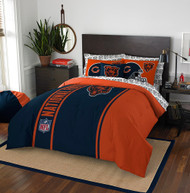 NFL Chicago Bears Soft & Cozy 7-Piece Full Size Bed in a Bag Set