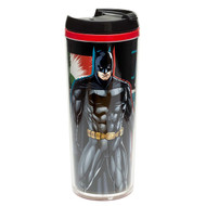 Zak! Designs Insulated Travel Mug featuring Batman  & Justice League Graphics