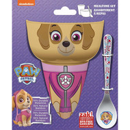 Paw Patrol Skye 3-Piece Mealtime Set