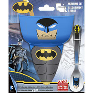 Batman Comics 3-Piece Mealtime Set