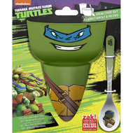 TMNT Leonardo 3-Piece Mealtime Set