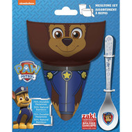 Paw Patrol Chase 3-Piece Mealtime Set
