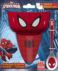 Spiderman 3-Piece Mealtime Set