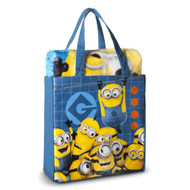 Despicable Me Minion Tote and Throw set