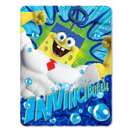 SpongeBob SquarePants 'Invinci-Bubble' Fleece Throw