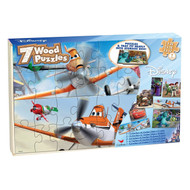 Disney/Pixar Planes 7-Pack Wood Puzzles