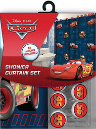 Disney/Pixar Cars Fabric Shower Curtain Set